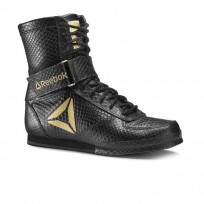 Reebok Boxing Tactical Shoes Mens Black/Gold (800QKASE)