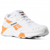 Reebok Aztrek Shoes Mens Enh-White/Black/Solar Orange (801GNTYP)