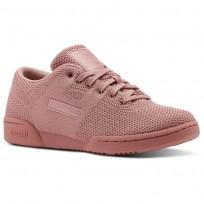 Reebok Workout Shoes Womens Sandy Rose/White (801ORLYS)