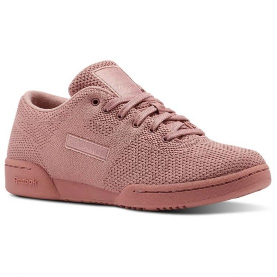 Chaussure Reebok Workout Femme Rose/Blanche (801ORLYS)