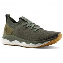 Reebok Floatride RS ULTK Lifestyle Shoes Mens Hunter Green/Coal/Ironstone/White (802LGWPJ)