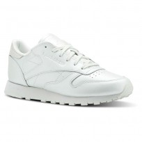 Chaussure Reebok Classic Leather Femme Argent Metal (807MRPGC)