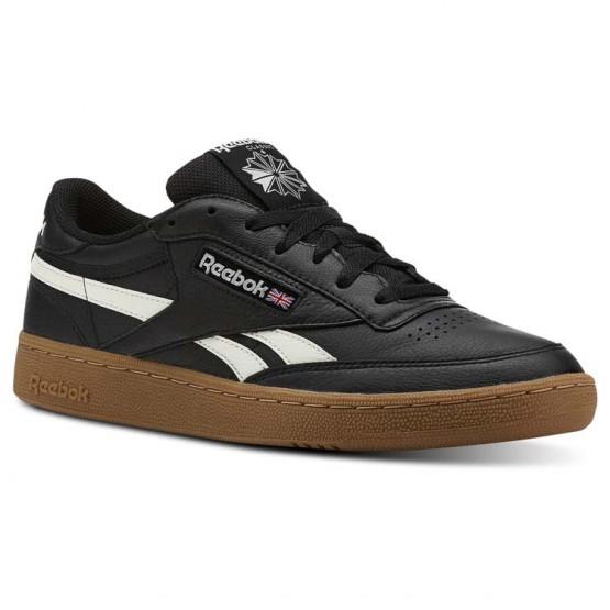 Reebok Revenge Plus Shoes Mens Trc-Black/Chalk/Gum (814CEQMI)