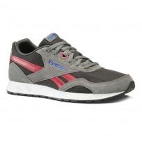 Reebok Royal Connect Shoes Mens Hs-Alloy/Coal/Cranbery Red/Vital Blue/Wht/Blk (815STCGR)