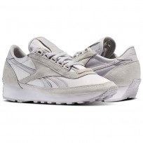 Chaussure Reebok x FACE Stockholm Femme Grise/Blanche (816OPQIY)