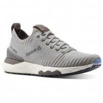 Reebok Floatride 6000 Lifestyle Shoes Womens Powder Grey/Stark Grey/Smoky Taupe/White (817WXNCU)