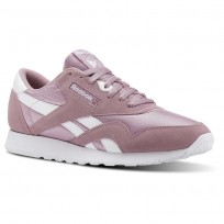 Chaussure Reebok Classic Nylon Homme Blanche (826GPENQ)