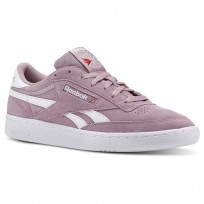 Reebok Revenge Plus Shoes Mens Estl- Infused Lilac/White (827ZDILF)