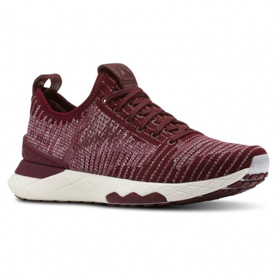 Reebok Floatride 6000 Lifestyle Shoes Womens Rustic Wine/Twisted Berry/Lavendar Luck/Chalk (832BSLTP)
