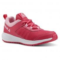 Buty Do Biegania Reebok Road Supreme Dziewczynka Różowe/Głęboka Różowe/Białe (832OKMUW)