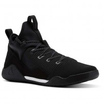 Reebok Combat Noble Tactical Shoes Mens Black/White (836YTDBO)