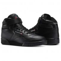 Reebok Ex-O-Fit Shoes Mens Intense Black (837BZGJF)