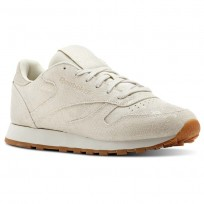 Chaussure Reebok Classic Leather Femme Blanche (839BTAPU)