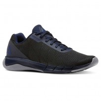 Reebok Flexweave Run Running Shoes Mens Collegiate Navy/Cool Shadow/Bunker Blue (844URNKT)