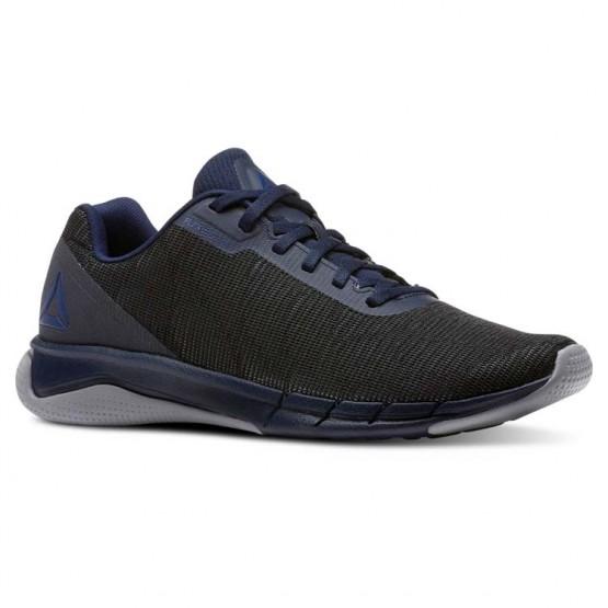 Reebok Flexweave Run Running Shoes Mens Collegiate Navy/Cool Shadow/Bunker Blue (844URNKT)