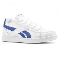 Reebok Royal Prime Shoes Kids White/Collegiate Royal/Primal Red (846BWRNX)