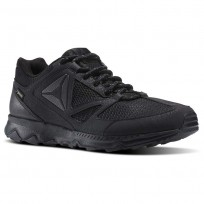 Reebok Skye Peak GTX 5.0 Running Shoes Mens Black/Ash Grey/Coal (847ZESOX)