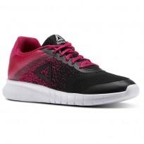 Reebok Instalite Shoes Womens Og-White/Excellent Red/Rbk Brass/Black (850WZMOY)