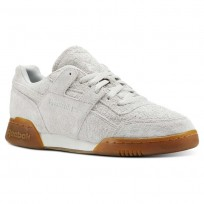 Chaussure Reebok Workout Plus Homme Blanche (851TAPCI)