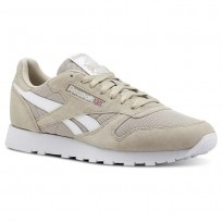 Chaussure Reebok Classic Leather Homme Blanche (854YMOIS)