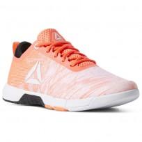 Reebok Speed Training Shoes Womens Vitamin C/Black/White (858MFJXP)