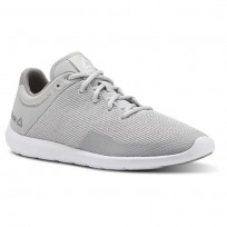 Reebok Studio Basics Studio Shoes Womens Skull Grey/Tin Grey/White (864NGSIK)