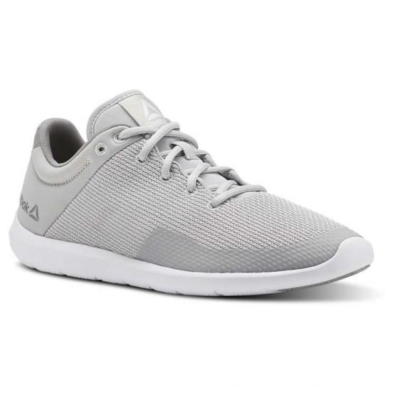 Reebok Studio Basics Studio Shoes Womens Skull Grey/Tin Grey/White (864NGSIK)