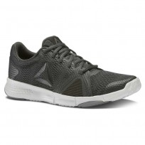 Reebok Flexile Training Shoes Womens Coal/Black/Skull Grey/Alloy (875ZGOVX)