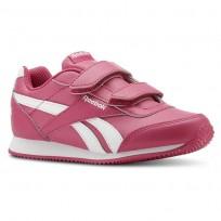 Reebok Royal Classic Jogger Shoes Girls Pink/White (878NQKUW)