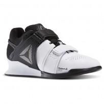 reebok legacy lifter παπουτσια γυναικεια ασπρα/μαυρα (889exgtr)