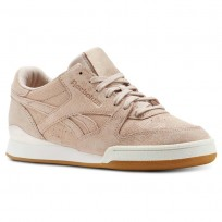 Reebok Phase 1 Pro Shoes Womens Exotics-Bare Beige/Chalk/Pale Pink/Gum (893DAQUM)