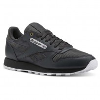 Chaussure Reebok Classic Leather Homme Blanche (893KUMYC)