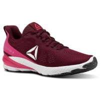 Reebok Sweet Road 2 Running Shoes Womens Rustic Wine/Twisted Pink/White/Ash Grey (896PHZDJ)