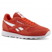 Chaussure Reebok Classic Leather Homme Blanche (896PMGUY)