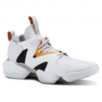 Reebok 3D OP. Shoes Mens Legacy-Spirit White/Opus Gold/Blk (899ZPLVR)