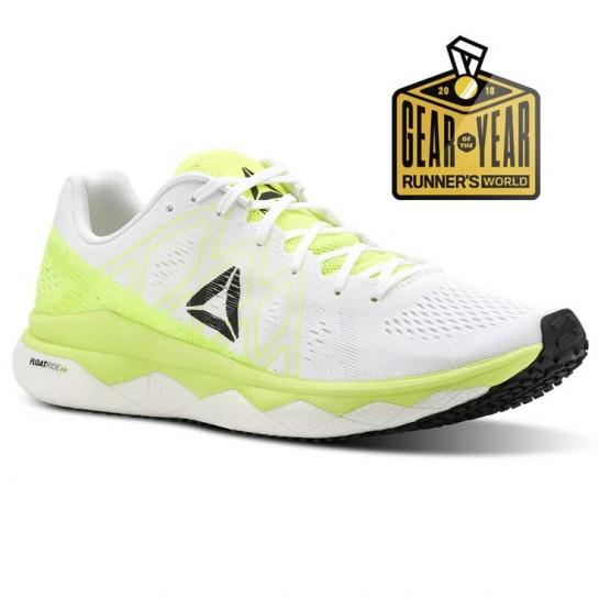 Reebok Floatride Run Running Shoes Womens Solar Yellow/White/Black (904LPNHA)