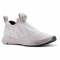 Reebok Pump Supreme Lifestyle Shoes Mens Reveal-Lavender Luck/Rustic Wine/Ash Grey (904TGEHP)
