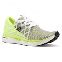 Reebok Floatride Run Running Shoes Womens Solar Yellow/Black (907UYZAE)