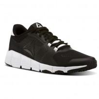 Reebok Trainflex Training Shoes Womens Black/White (908JZNHC)