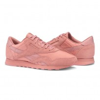 Reebok Classic Nylon Shoes Womens Sandy Rose (908RFQPB)