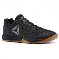 Reebok CrossFit Nano Shoes For Men Black/White (911AHFES)