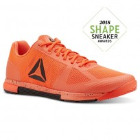 Reebok Speed Training Shoes Mens Atomic Red/Black (920IZNLF)