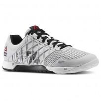 Reebok CrossFit Nano Shoes Womens Porcelain/Black/White (923DOKBE)