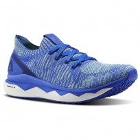 Reebok Floatride RS ULTK Lifestyle Shoes Mens Acid Blue/Blue Lagoon/Electric Flash/White (931ULIVY)