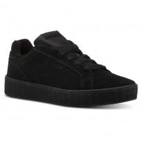 Reebok Royal Shoes Womens Black/Black (936KRQPB)