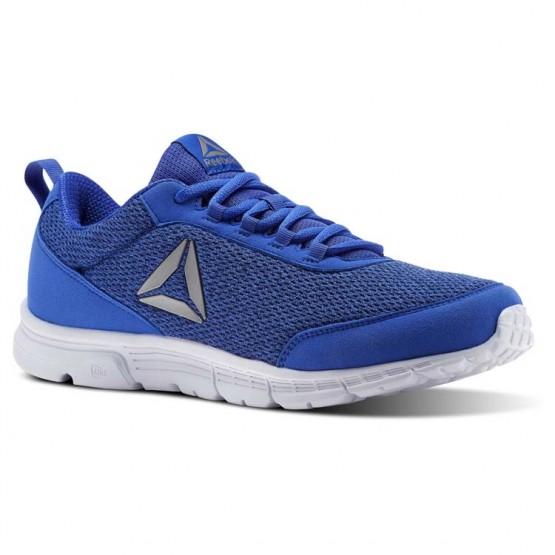 Reebok Speedlux 3.0 Running Shoes Mens Acid Blue/Colle Navy/Elec Flassh/Wht/Pwtr (938YKFUZ)