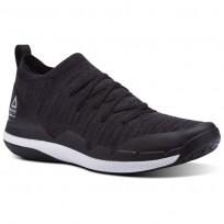 Reebok Ultra Circuit TR ULTK LM Studio Shoes Mens Black/Ash Grey/Skull Grey/White (942RODQU)