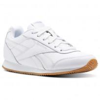 Chaussure Reebok Royal Classic Jogger Enfant Blanche/Grise (943SPLZG)