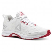 Reebok Ahary Runner Running Shoes Womens White/Skull Grey/Twsited Pink (951NXTOE)