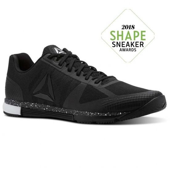Chaussure De Sport Reebok Speed Homme Noir/Blanche (954YTUFD)